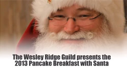 2013 Pancake Breakfast with Santa