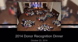 Wesley Glen / Wesley Ridge Annual Donor Dinner 2014