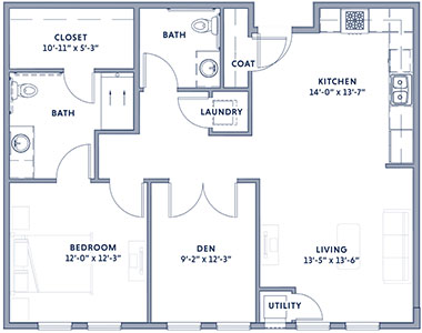 Wesley at New Albany Dogwood Floor Plan