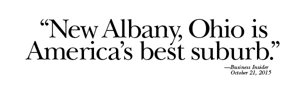 New Albany, Ohio is America's best suburb.