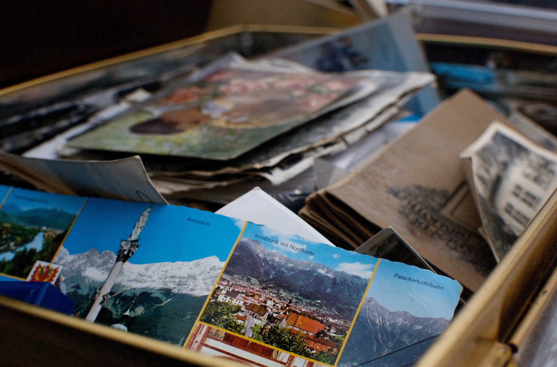 Box of Postcards